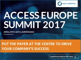 Save the date and meet with us at Europe's no.1 meeting place for market access, pricing, reimbursement.  April 25th-26th 2017 | Novotel Amsterdam City, Amsterdam, NL