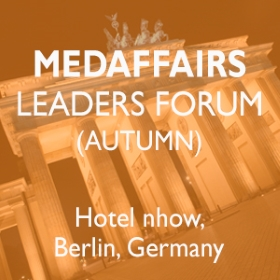 Save the date and meet us at the Medaffairs leaders forum in Berlin on October 10-13, 2017.